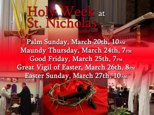Easter and Holy Week