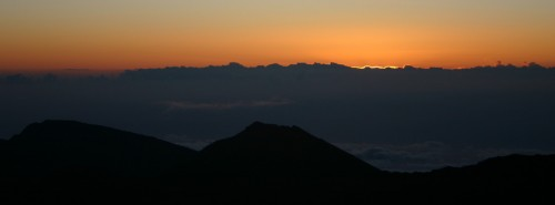 The Light Coming Into The World, Haleakala