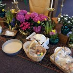 Easter Foods and Baskets