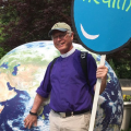 Bp. Marc Andrus at the Climate March